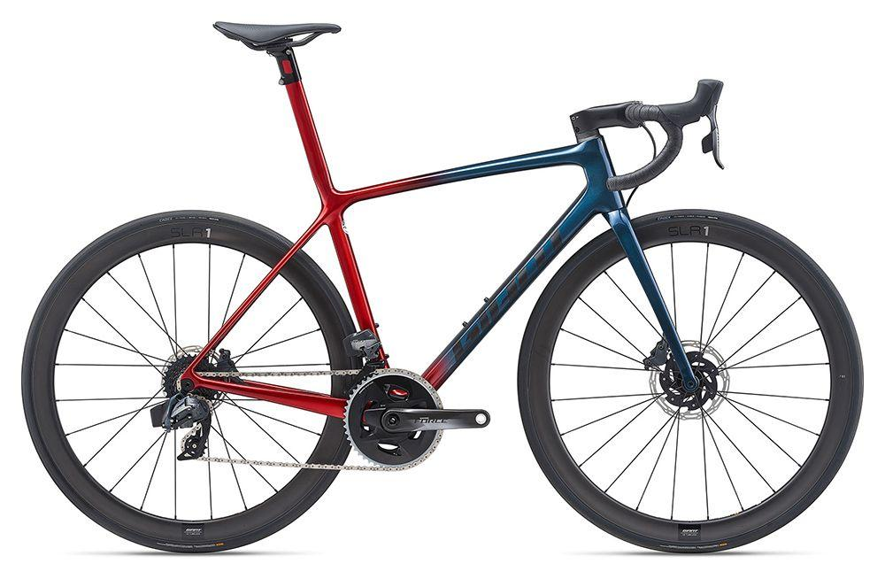 KOLO GIANT TCR ADVANCED SL 1 DISC ML 2021 cosmos navy